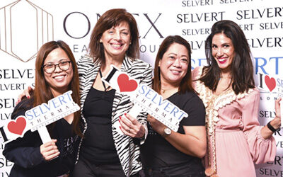 Onex Beauty event in Qatar